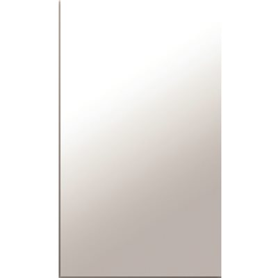 MIRROR 1/8 IN. THICK, SEAMED EDGE, 12X13-7/8 IN.