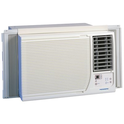 fedders window air conditioner btu 230v with heat
