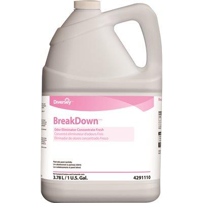 Diversey Inc Part # 94291110 - Breakdown 1 Gal  Fresh Scent