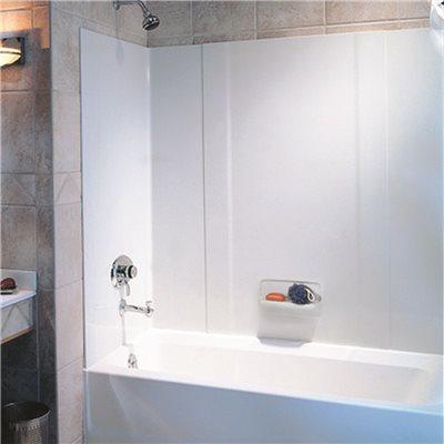 Swan Corporation Part # HA58.010 - Swan® High-Gloss 3-Panel Bathtub ...