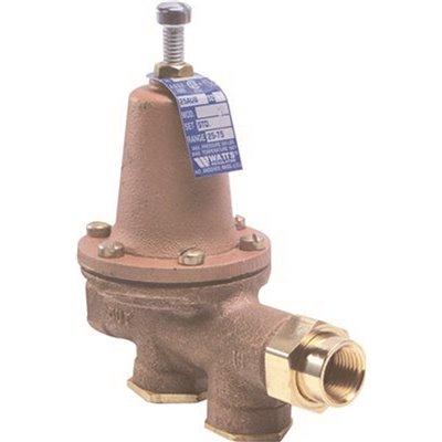 WATTS 1//2 T1156F SERIES IRON BODY WATER PRESSURE REGULATOR 1//2/'/' threaded union.