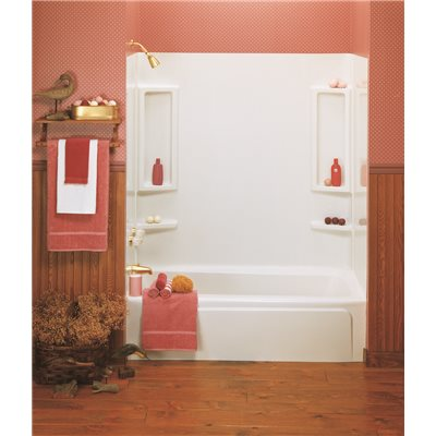 Delta Part # TW35019A - Delta 5-Piece Deluxe Bathtub Wall Kit With ...