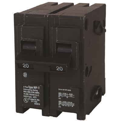 Siemens Part # Q220U - Siemens 20 Amp Double-Pole Type Qp