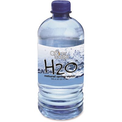 BOTTLED SPRING WATER, 20 OZ., 24 BOTTLES/CARTON