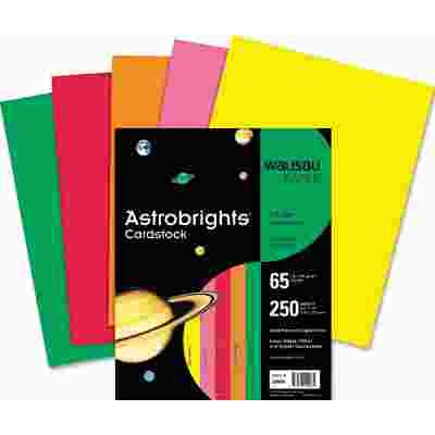 Wausau Paper Part Wausau Paper Astrobrights Colored Card