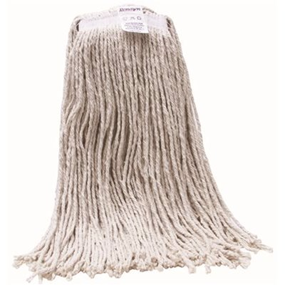 Renown Part Ren02358 Renown 20 Oz White Cotton Heavy Duty Cut End Wet String Mop Head With 1 In Head Band Cut End Mops Home Depot Pro