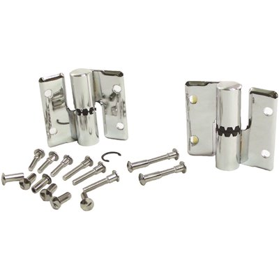 Strybuc Industries Part 91 28 Surface Mounted Gravity Hinge Left Hand In Right Out With Screws Bathroom Partition Accessories Home Depot Pro