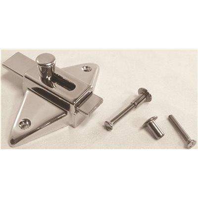 Strybuc Industries Part 91 79a 2 3 4 In Slide Latch For Laminate Door With Screws Bathroom Partition Accessories Home Depot Pro