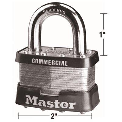 Master Lock Part 5ka A112 Master Lock Number 5 2 In Bodylock Laminated Steel Padlock Padlocks Home Depot Pro