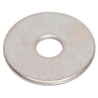 "Zinc Plated Steel 3//4/"" OD PK100 #8 Fender Washer"