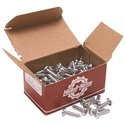 Pan 8 Metal Screw 1 1//2 L PK100
