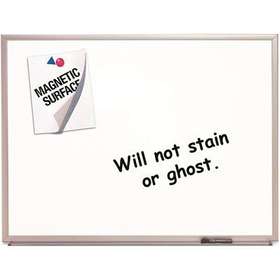 Acco Brands Part # QRT2544 - Magnetic Dry-Erase Board, Porcelain, 48 ...