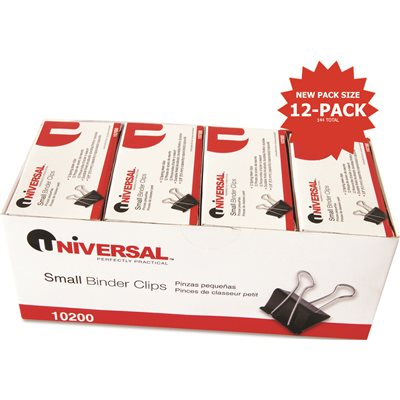 Universal Office Products Part # UNV10200VP - Small Binder Clips ...