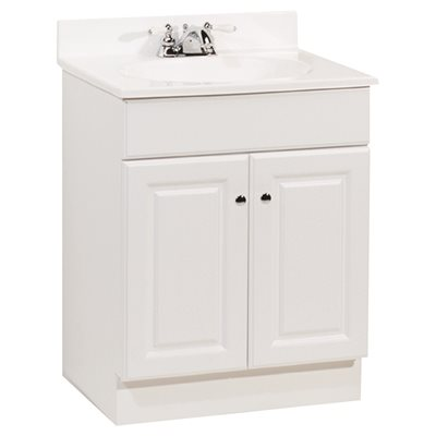 RSI HOME PRODUCTS RICHMOND BATHROOM VANITY CABINET WITH ...