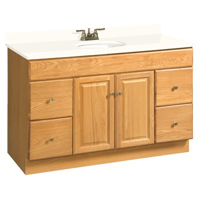 DESIGN HOUSE® CLAREMONT BATHROOM VANITY CABINET, READY TO ASSEMBLE, 2 DOOR,  4