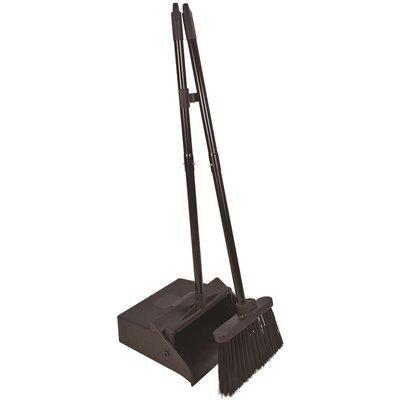 Carlisle Part 36141503 Carlisle Duo Pan Lobby Dust Pan And Duo Sweep Broom Brooms Home Depot Pro