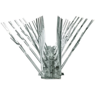 Bird X Part Sp 50 Bird X 50 Ft Original Plastic Bird Spikes Kit Pigeon Repellent Insect Pest Control Home Depot Pro