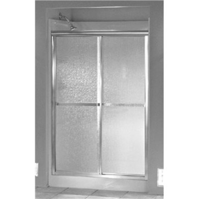 STERLING STANDARD BY PASS SHOWER DOOR 56 IN. HIGH X 48 IN. WIDE 20
