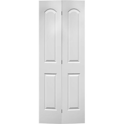 MASONITE® ROMAN HOLLOW CORE BI-FOLD DOOR SMOOTH FINISH 2 PANEL