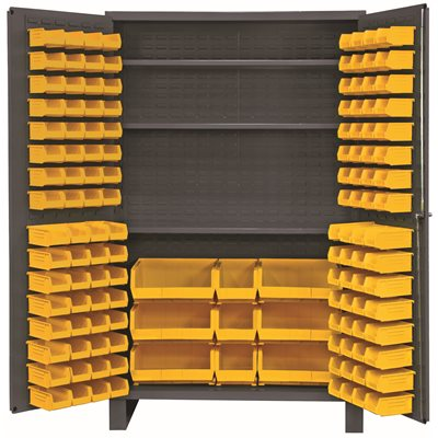 INDUSTRIAL STORAGE, CABINETS, 14 GAUGE HEAVY DUTY CABINETS, CABINETS WITH  HOOK ON