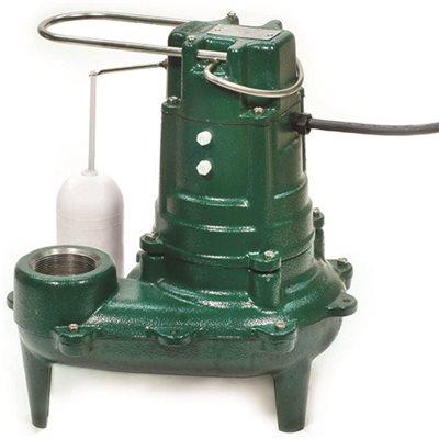 Zoeller Part 267 0001 Zoeller 1 2 Hp Sewage Ejector Nonclog Pump Sump Pumps Home Depot Pro
