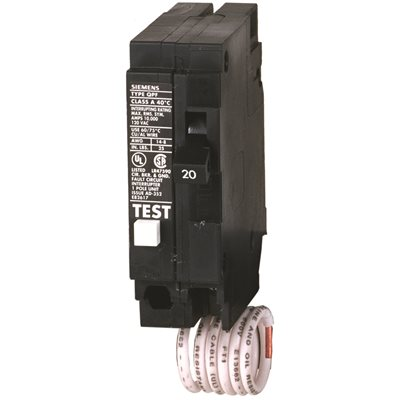 Siemens Part # MP120GFA - Siemens 20 Amp Single-Pole Type Mp