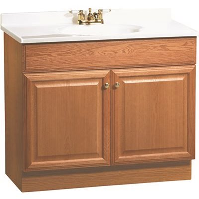 Rsi Home Products Part C14036a Rsi Home Products 36 In X 31 In X 18 In Richmond Bathroom Vanity Cabinet With Top With 2 Door In Oak Bathroom Vanities With Tops Home Depot Pro