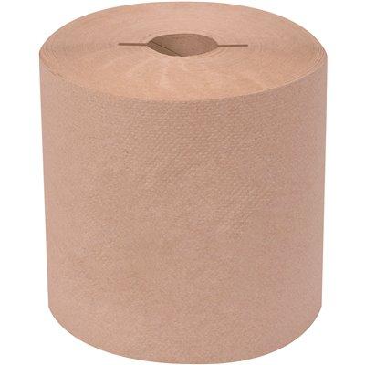 "1,000ft Rolls, 6 per Case Renown White 8/"" High-Cap Hardwound Paper Towels"