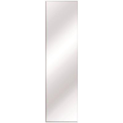 Glacier Bay Part 81170 Glacier Bay 16 In W X 60 In H Frameless Rectangular Flush Mount Beveled Edge Bathroom Vanity Mirror In Silver Frameless Mirrors Home Depot Pro