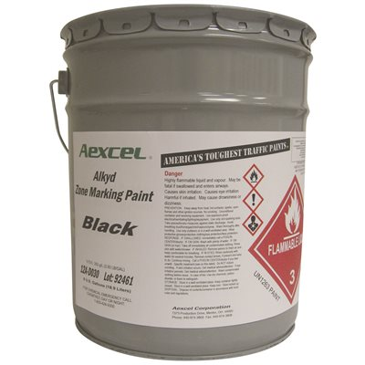 Aexcel Part # - Aexcel 12A-D030 Black Alkyd 5 Gal - Exterior