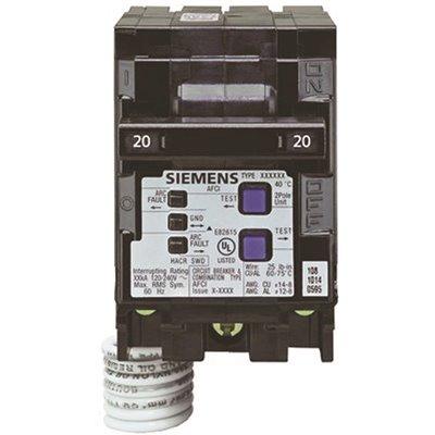 Siemens Part # Q220AFC - Siemens 20 Amp Double-Pole