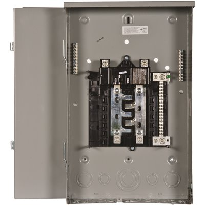 Siemens Part Pw0816b1200tc Siemens Pl Series 200 Amp 8 Space 16 Circuit Main Breaker Outdoor Trailer Panel Load Center Load Centers Home Depot Pro
