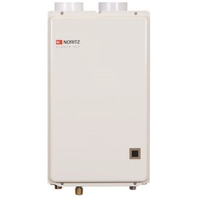 Noritz Part Nrc661 Dv Lp Noritz 6 6 Gpm 120 000 Btu Indoor Condensing Direct Vent Liquid Propane Gas Residential Tankless Water Heater Tankless Residential Water Heaters Home Depot Pro