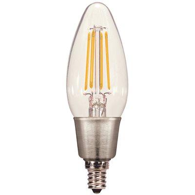 Candelabra Base Led Light Bulb Warm, Home Depot Canada Led Chandelier Bulbs