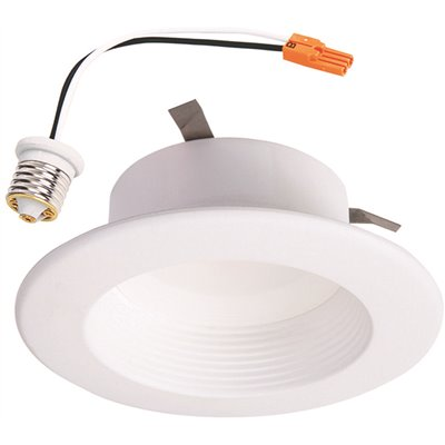 Halo Part Rl460whzha69 Halo Rl 4 In White Wireless Smart Integrated Led Recessed Ceiling Light Fixture Trim With Selectable Color Temperature Trim Home Depot Pro