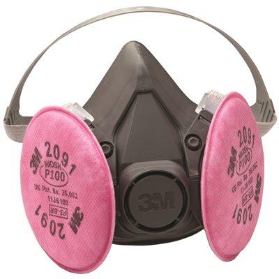 3m respirator mask large