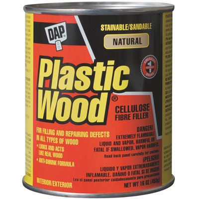 PLASTIC WOOD FILLER, 16 OZ.