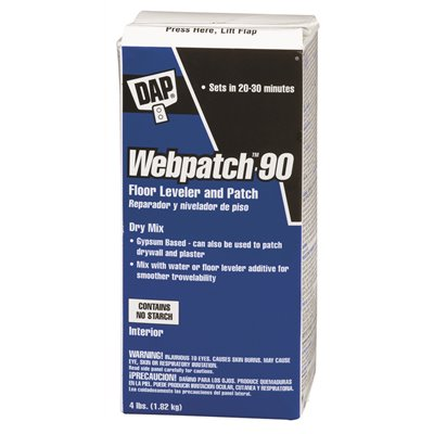 DAP WEBPATCH 90 FLOOR LEVELER AND PATCH 4 LB