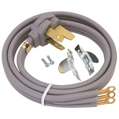 Ge Part # ELECTRIC RANGE KIT 6 - 40 Amp, 3 Wire Range Cord, Complete ...