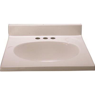 Premier Part 112009 Premier 19 In X 17 In Cultured Marble Bathroom Custom Vanity Top In White Vanity Tops Home Depot Pro