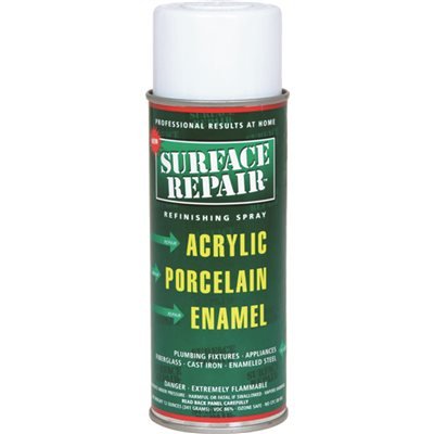 Surface Repair Refinishing Spray Appliance 12 Oz White