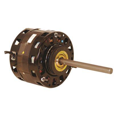 CENTURY BL6414 SINGLE SHAFT FAN / BLOWER MOTOR , 5 IN., 115 VOLTS, 6.5-4.0-3.0 AMPS, 1/5-1/5-1/10 HP ...