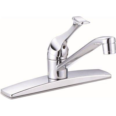 Premier Part 67210 0701 Premier Concord Single Handle Standard Kitchen Faucet Without Side Sprayer In Chrome Single Handle Kitchen Faucets Home Depot Pro