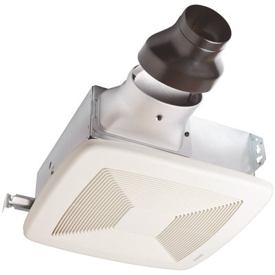Broan Nutone Part Lp80 Broan Nutone Loprofile 80 Cfm Ceiling Wall Bathroom Exhaust Fan With 4 In Oval Duct Or 3 In Round Duct Energy Star Bathroom Exhaust Fans Home Depot Pro