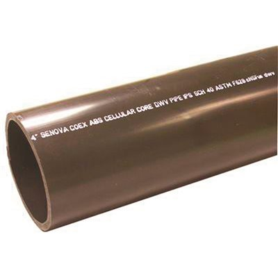 3 DWV Drain Pipe Custom Size and Length 4 ABS