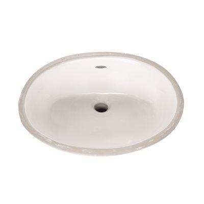 American Standard Part 0496 221 020 American Standard Ovalyn Undermount Bathroom Vessel Sink In White Bathroom Sinks Home Depot Pro
