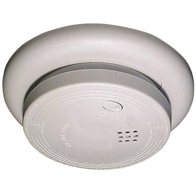 USI TAMPER RESISTANT IONIZATION SMOKE AND FIRE ALARM 9 VOLT