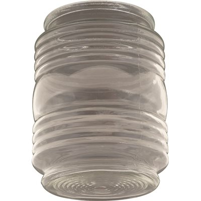 jelly jar ceiling fixture replacement glass clear 434 in
