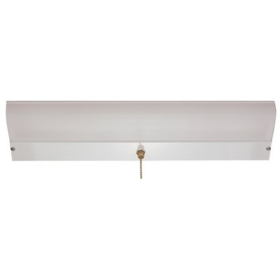 monument part monument fluorescent closet light fixture with