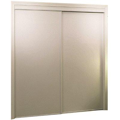 HOME DECOR INNOVATIONS BYPASS DOOR 72X80 WHT VINYL